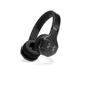 Fone de Ouvido JBL Under Armour Sport Train Headphone On-Ear Bluetooth Microfone Preto