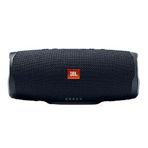 Caixa de Som Bluetooth JBL Charge 4 30W RMS À Prova D'água Preto