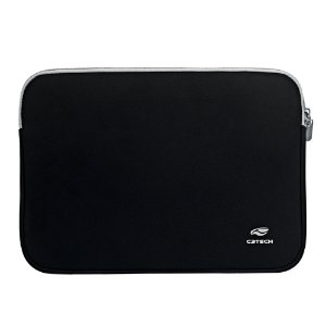 "Capa Sleeve para Notebook C3TECH 15.6"" Seattle SL-15PTO Preta"
