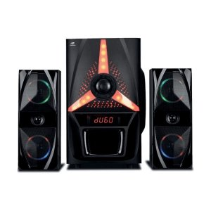 Speaker C3Tech 2.1 Bluetooth SP-B500BK /FM/USB Preto