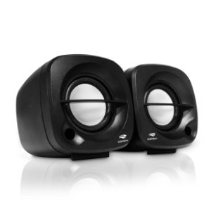 Caixa de Som Speaker C3Tech 2.0 SP-303BK Preto