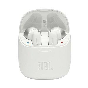 Fone de Ouvido JBL Tune 220TWS Bluetooth True Wireless Pure Bass Sound Branco