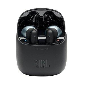 Fone de Ouvido JBL Tune 220TWS Bluetooth True Wireless Pure Bass Sound Preto