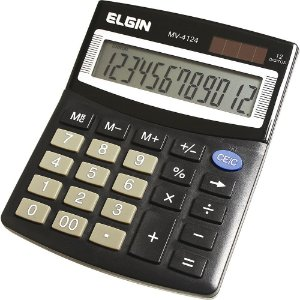 Calculadora de Mesa Elgin com 12 dígitos MV-4124