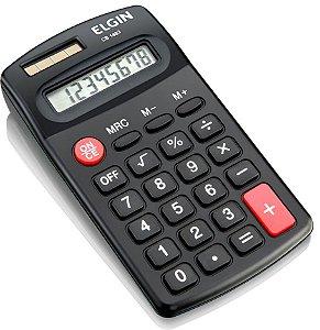 Calculadora de Bolso Elgin com 8 dígitos CB-1483
