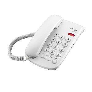 Telefone com Fio Elgin Indicação Luminosa de Chamadas TCF 2000 Branco