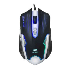 Mouse Gamer C3Tech USB MG-11BSI Preto/Prata
