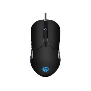 Mouse Gamer HP USB M280 2400DPI RGB Preto