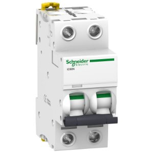 Disjuntor Acti9 IC60N 2P C 40A 440V - A9F74240BR Schneider Electric