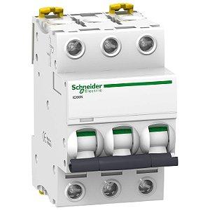 Disjuntor Acti9 IC60N 3P C 63A 440V - A9F74363BR Schneider Electric