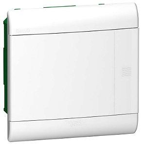 Quadro De Distribuição Easy9 1 Fila 8 Modulos Embutir Porta Opaca - EZ9E3308 Schneider Electric