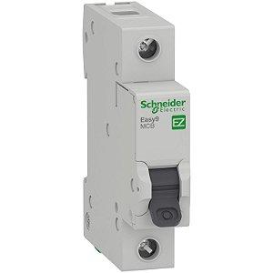 Disjuntor Easy9 1P 6A Curva C - 3000A - EZ9F33106 Schneider Electric