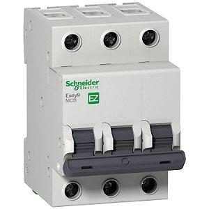 Disjuntor Easy9 3P 6A Curva C - 3000A - EZ9F33306 Schneider Electric