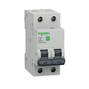 Disjuntor Easy9 2P 32A C 6000A 230V - EZ9F56232BR Schneider Electric