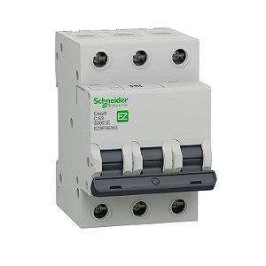 Disjuntor Easy9 3P 63A C 6000A 400V - EZ9F56363 Schneider Electric