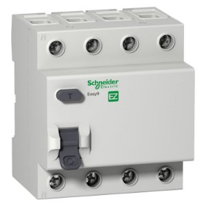 Interruptor Diferencial Residual Easy9 4P 30MA 80A Classe AC 3000A 415V - EZ9R33480 Schneider Electric