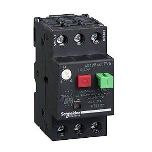 Disjuntor Termomagnético Tesys GZ1E 1.6-2.5A Botão Impulsão - GZ1E07 Schneider Electric