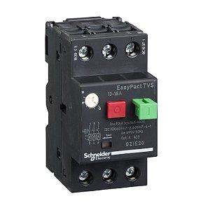 Disjuntor Termomagnético Tesys GZ1E 13-18A Botão Impulsão - GZ1E20 Schneider Electric