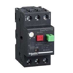 Disjuntor Termomagnético Tesys GZ1E 24-32A Botão Impulsão - GZ1E32 Schneider Electric