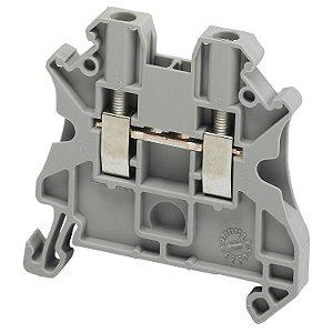 Conector Parafuso 2.5mm2 2 Pontos Cinza - NSYTRV22 Schneider Electric