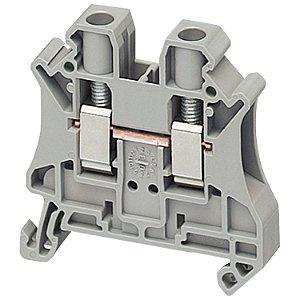 Conector Parafuso 6mm2 2 Pontos Cinza - NSYTRV62 Schneider Electric
