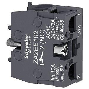 Bloco De Contato XA2E 1NF - ZA2EE102 Schneider Electric