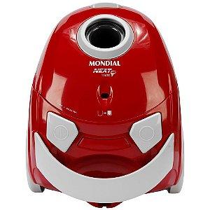 Aspirador de Pó Mondial Next 1500 Vermelho/Cinza 127V