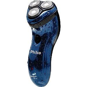Barbeador Philco Aqua Azul Bivolt