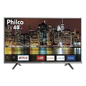 "Smart TV Led 40"" Philco PTV40E21SNS Netflix Bivolt"
