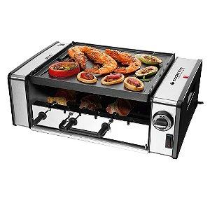 Churrasqueira Elétrica Cadence Automatic Grill Inox 127V