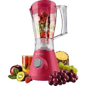Liquidificador Cadence Colors Rosa Doce LIQ355 127V