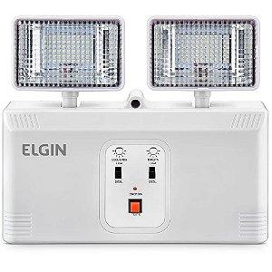 Luminária de Emergência Elgin Power Line Bloco Autônomo 16W