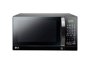 Micro-ondas LG 30 Litros Preto Espelhado MS3097AR 127V