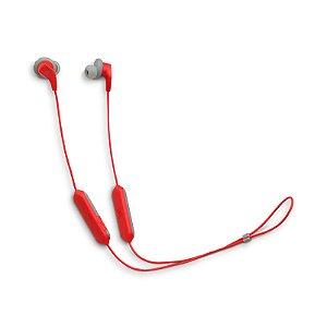 Fone de Ouvido Esportivo JBL Endurance Run BT Bluetooth Microfone Vermelho