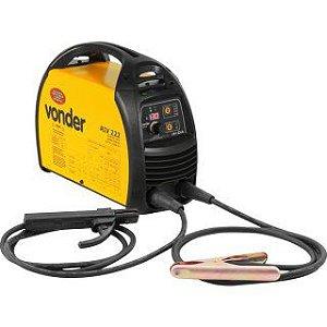 Inversor para Solda Elétrica Vonder com Display Digital RIV222 Amarela/Preta Bivolt
