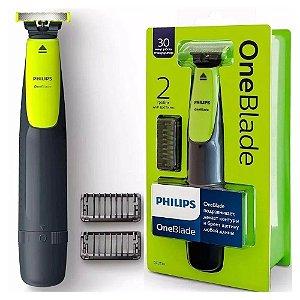 Barbeador Elétrico Philips OneBlade QP2510 Bivolt