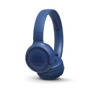Fone de Ouvido JBL T500BT Headphone On-Ear Bluetooth Microfone Azul