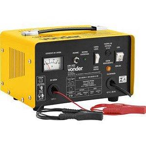 Carregador de bateria Vonder CBV950  Amarelo/Preto 127V