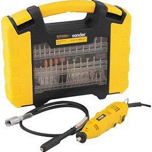 Microrretífica Vonder com acessórios ARV453 Amarelo 127V