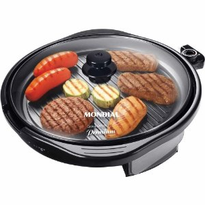Grill Mondial Cook Grill Premium Redondo G-03 Preto 127V