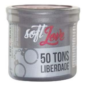 Soft Ball Triball 50 Tons De Liberdade 12gr 03 Unidades Soft Love