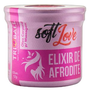 Soft Ball Triball Afrodite 03 Unidades Soft Love