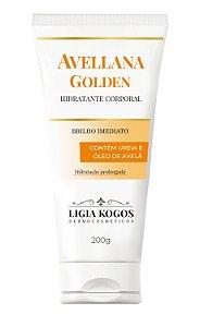 Creme Hidratante Corporal Avellana Golden com Uréia Ligia Kogos 200g