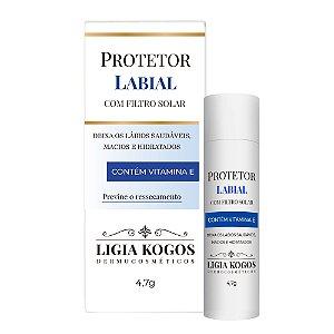 Protetor Labial com filtro solar FPS 15 Ligia Kogos 4,7g