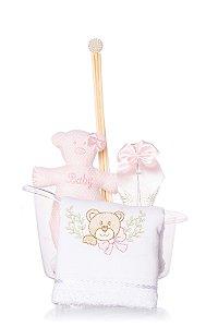 Kit Infantil Banheirinha - Rosa