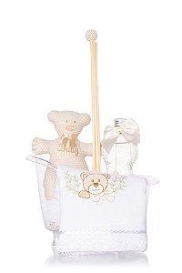 Kit Infantil Banheirinha - Bege