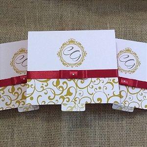 Convite Caixa de papel 17x14x5cm