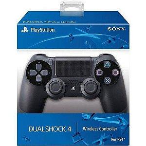 Controle sem Fio - Dualshock 4 Preto - PS4