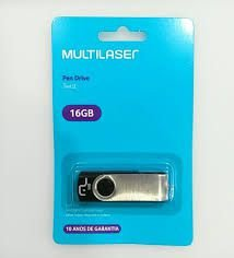 Pen Drive 16gb Multilaser Twist Original Lacrado