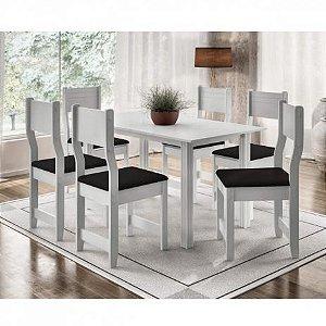 Conjunto de mesa c/6 cadeiras Dallas Plus